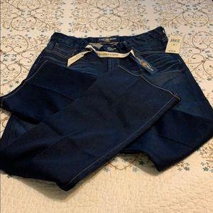 "Lucky Brand NWT ""The Sweet Jean"" dark wash"